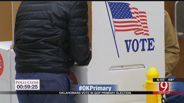 GOP Voters Head To The Polls, Await Results On Super Tuesday
