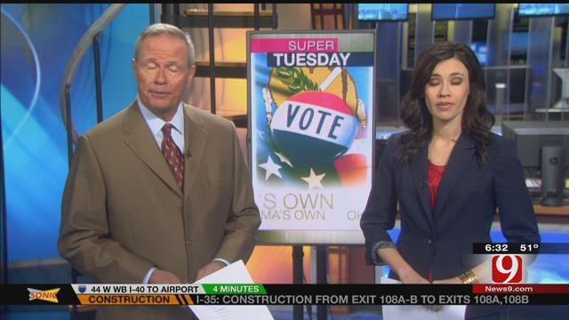Polls Open For Super Tuesday In Oklahoma