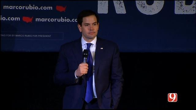 WEB EXTRA: Marco Rubio Speaks To Voters Before Super Tuesday