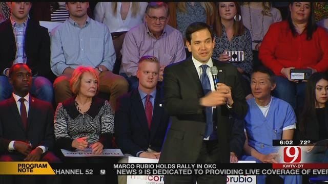 Marco Rubio Makes Final Push In OKC