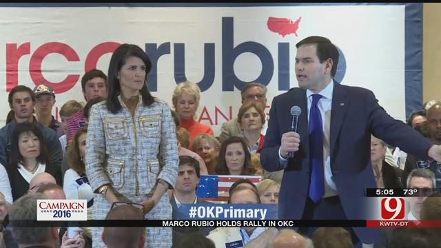 Marco Rubio To Rally At Putnam City North High School