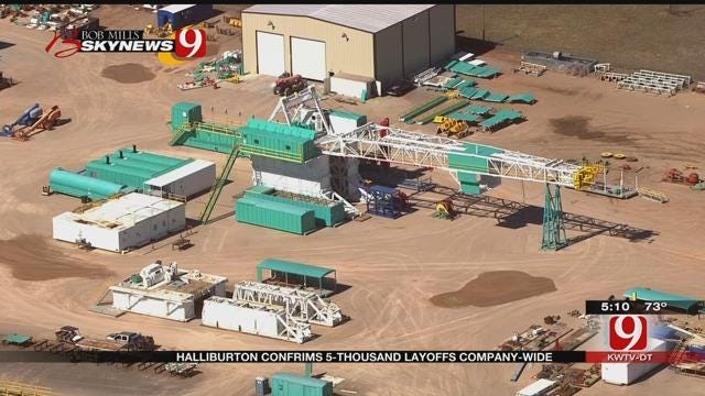 Halliburton Laying Off About 5,000 Positions Globally