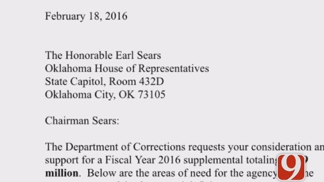 WEB EXTRA: Department Of Corrections Says It Needs More Money