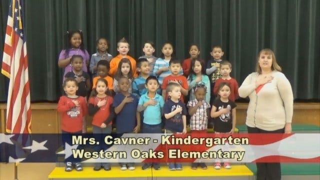 Mrs. Cavner's KindergartenClass At Western Oaks Elementary