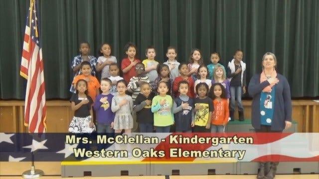 Mrs. McClellan's KindergartenClass At Western Oaks Elementary