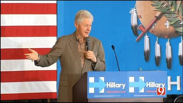 FULL VIDEO: President Bill Clinton Speaks At 'Get Out The Vote' Event At UCO