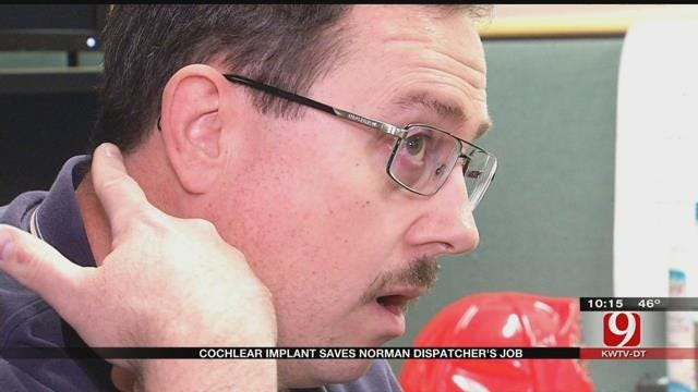 Cochlear Implant Saves Norman Dispatcher's Job