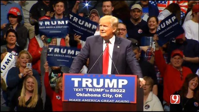 FULL VIDEO: Donald Trump Campaigns In OKC