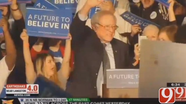 WEB EXTRA: Democratic Presidential Hopefuls Rally For Votes In OK