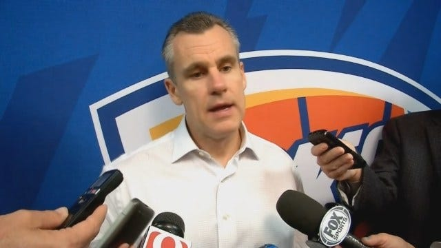 Donovan Talks With Reporters After Loss To Pelicans