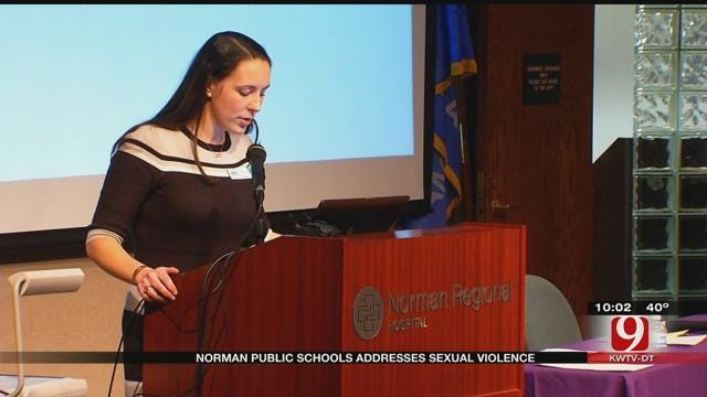 Norman Public Schools Addresses Sexual Violence