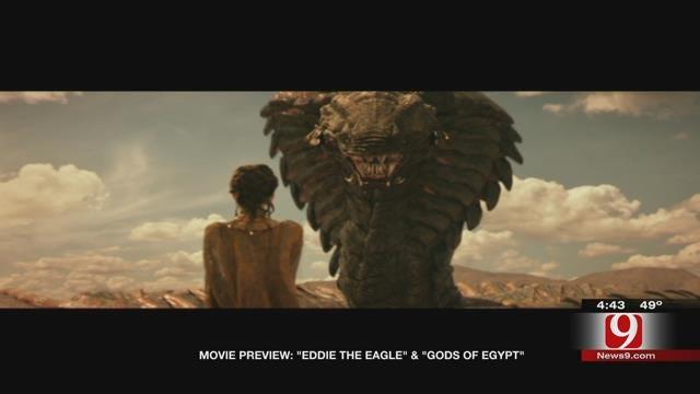 Dino's Movie Moment: Gods of Egypt, Eddie the Eagle