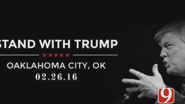 WEB EXTRA: Trump Misspells Oklahoma City Twice Ahead Of Visit