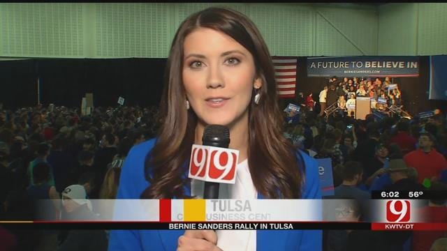 Presidential Candidate Bernie Sanders To Speak At Tulsa Rally