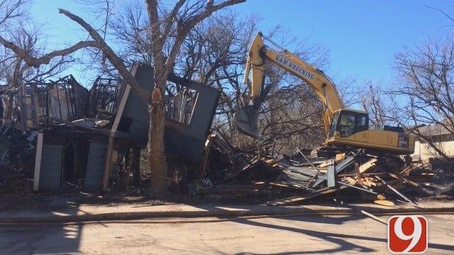 WEB EXTRA: Dana Hertneky Updates On Demolition Of OKC Apartments