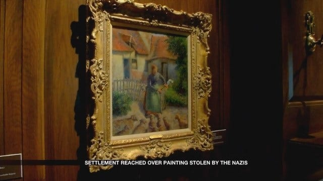 Settlement Reached Over Painting Stolen By The Nazis