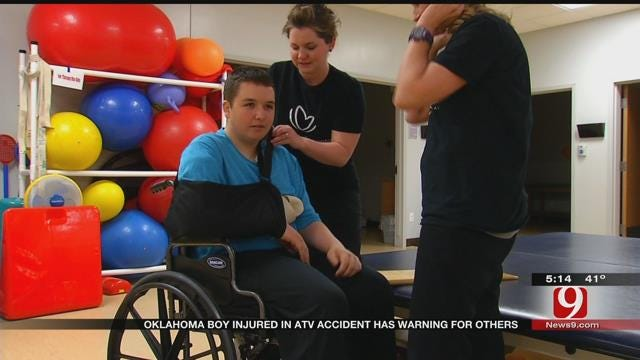 Oklahoma ATV Crash Survivor Hopes Others Learn From His Mistake