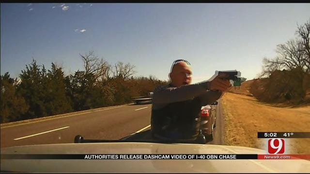 Authorities Release Dashcam Video Of I-40 OBN Chase