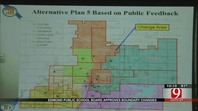 Board Moves Forward With New Edmond School Boundaries