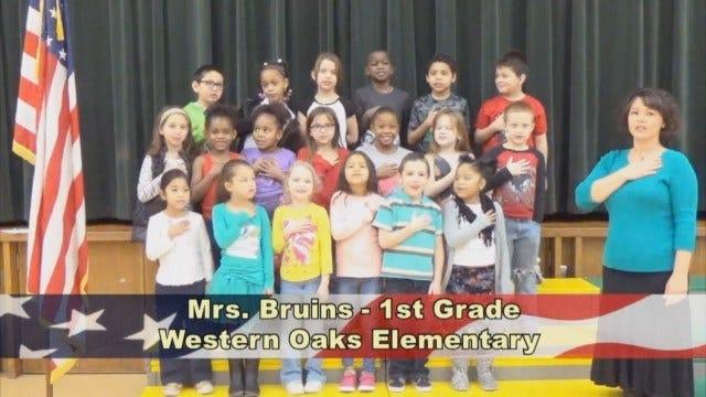 Mrs. Bruins'1stGrade Class At Western Oaks Elementary