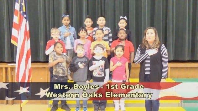 Mrs. Boyles' 1stGrade Class At Western Oaks Elementary