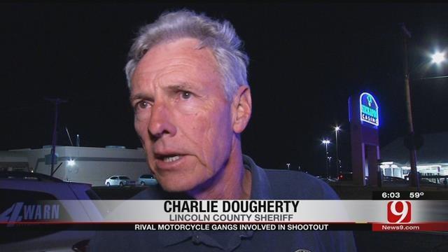 Rival Motorcycle Gangs Involved In Shootout Near Kickapoo Casino In Harrah