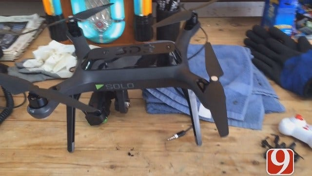WEB EXTRA: News 9 Gets A Drone