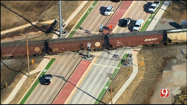 Pedestrian Killed After Being Hit By Train In Norman