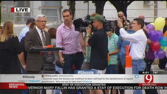 Gov. Fallin Issues Last-Minute Stay Of Execution For Richard Glossip