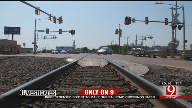 9 Investigates: State Transportation Department To Make Safer Railroad Crossings