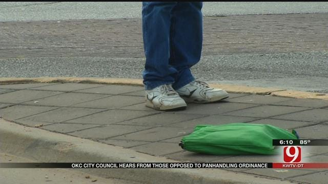Proposed OKC Ban On Panhandling Expanded To Include All Activities On Medians
