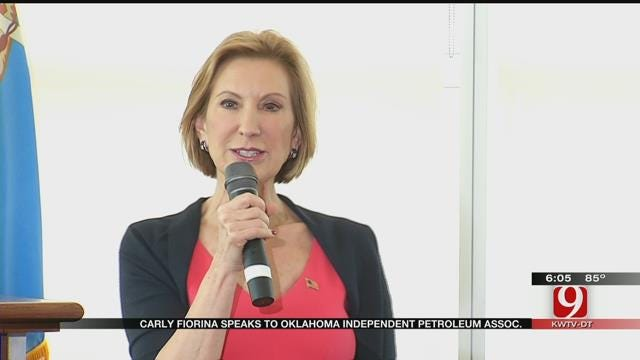 GOP Candidate Carly Fiorina Called For Leadership For US