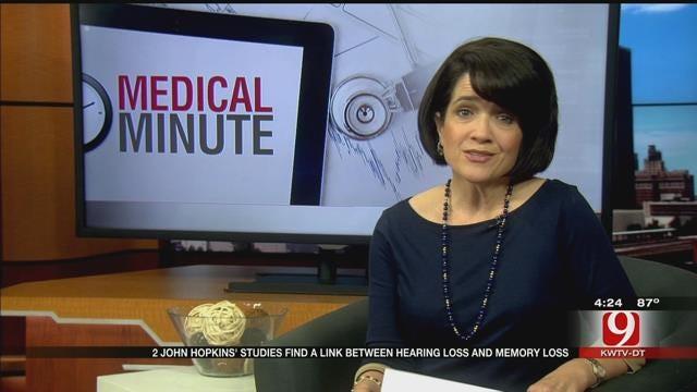 Medical Minute: Hearing Loss And Memory Loss