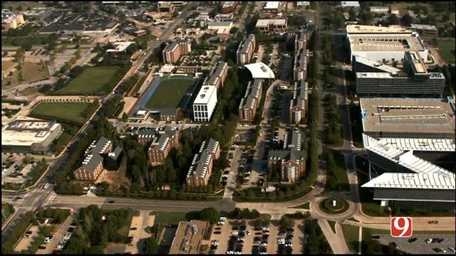 WEB EXTRA: SkyNews 9 Flies Over Chesapeake Campus After Layoffs Announcement