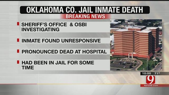 OK Co. Deputies, OSBI Investigate In-Custody Death