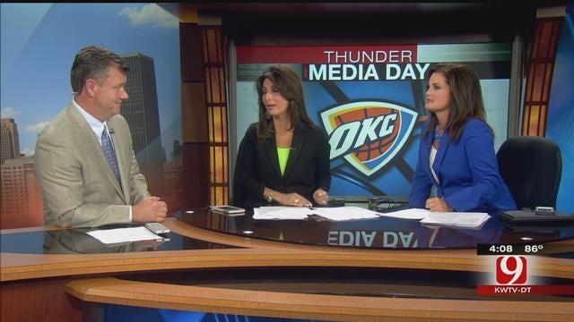 Steve Joins Robin & Lacie To Talk Thunder Media Day