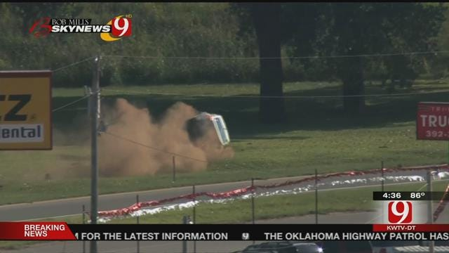 One In Custody After Leading OHP On High-Speed Chase