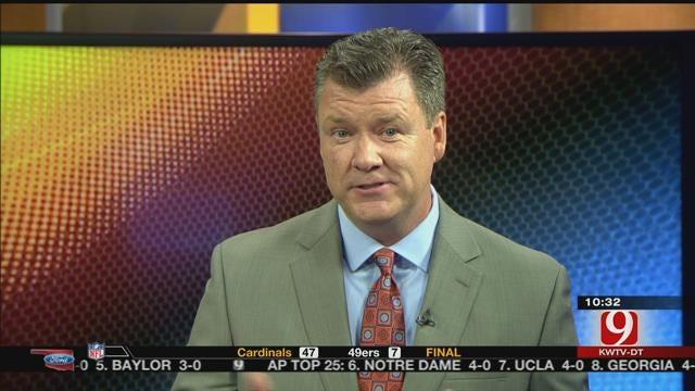 Steve McGehee Named News 9 Thunder Reporter