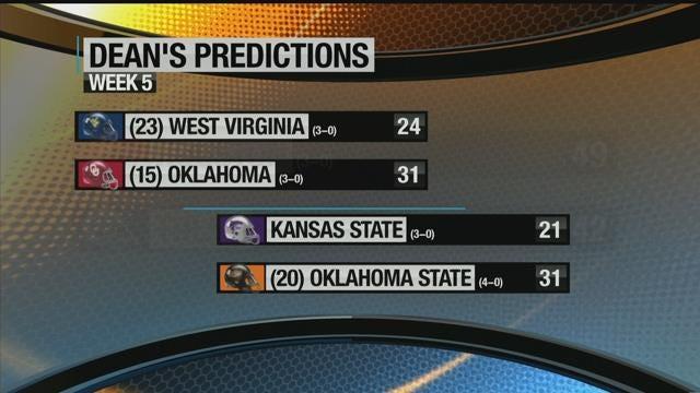 Predictions For OU, OSU and Tulsa