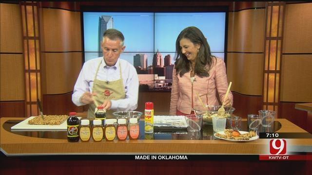 Made In Oklahoma: Honey-Nut Granola Bars
