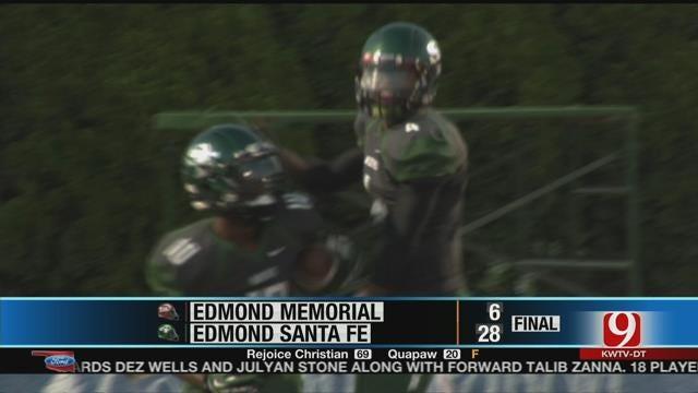 Santa Fe Crushes Memorial In Edlam