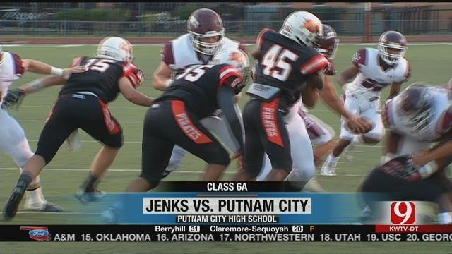 Jenks Show No Mercy Against Putnam City