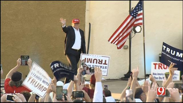 Donald Trump Speaks At Oklahoma State Fair, Part I
