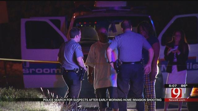 OKC Police Still Searching For Suspects In Early-Morning Home Invasion, Shooting