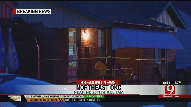 One Injured After Being Shot During Home Invasion In OKC