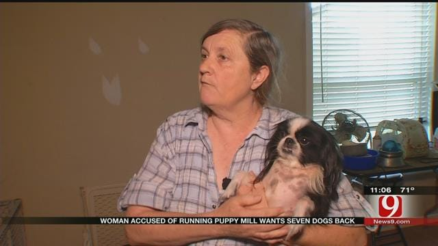 Norman Woman Accused Of Running Puppy Mill Wants Dogs Back