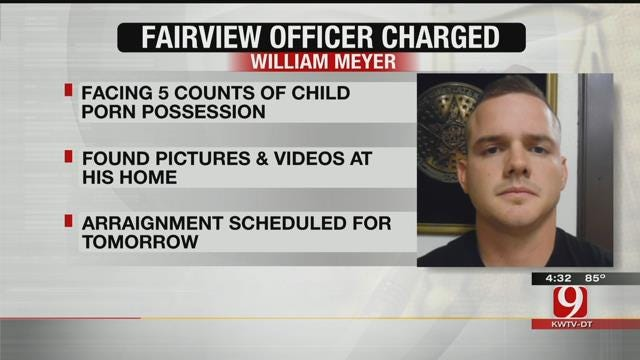 Fairview Police Officer Charged With Possession Of Child Porn