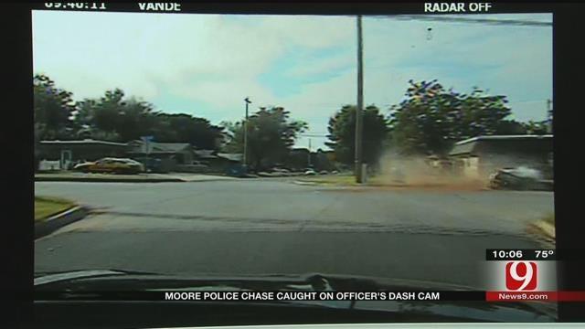 Felon Arrested After T-Boning Stolen Vehicle In Moore