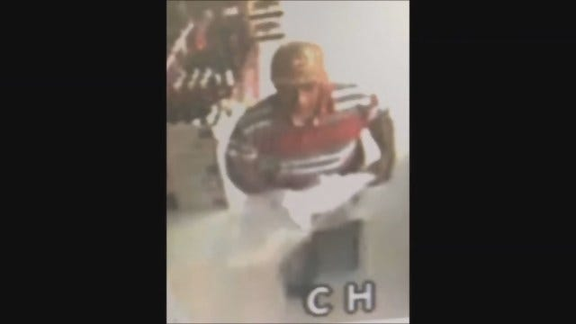 WEB EXTRA: Surveillance Footage From NW OKC Liquor Store Robbery