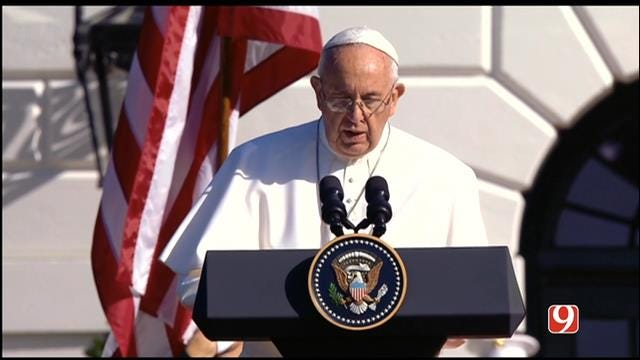 Pope Francis Speaks At White House